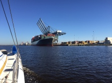Commercial shipping is alive and well on the Cape Fear River!