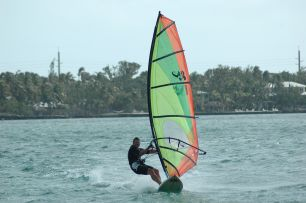 More windsurfing off Islamorada