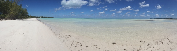 Still can't get over the white sand and crystal clear water!